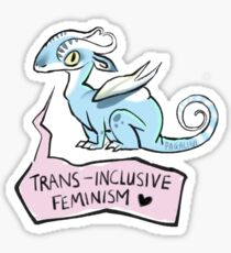 trans-inklusive Feminismus Sticker