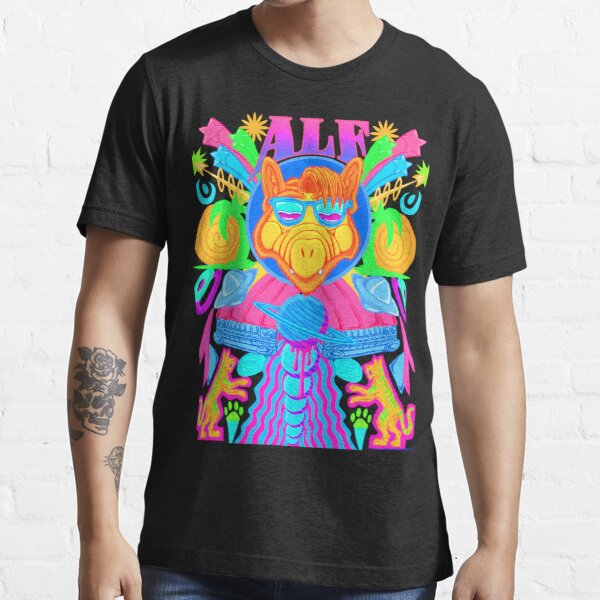 Psychedelic ALF Essential T-Shirt