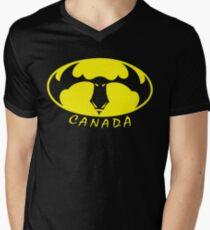 BatMoose Men's V-Neck T-Shirt