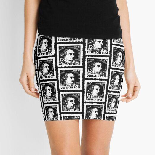 Johann Wolfgang von Goethe-3 Mini Skirt