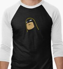 Space Ghost - Tilted Head - Colored Clean Men's Baseball ¾ T-Shirt