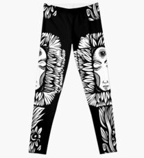 Night Flower Leggings
