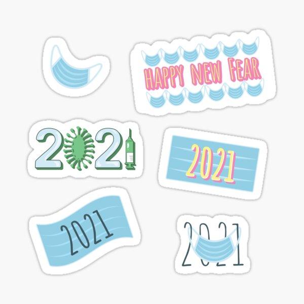 2021 new year sticker pack Sticker