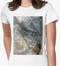 Folding Fire Women's Fitted T-Shirt