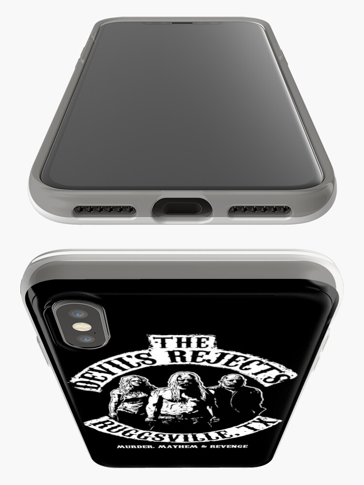 Alternate view of Devils Rejects, Ruggsvile, TX iPhone Cases & Covers