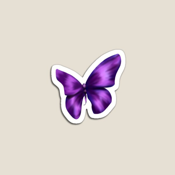 Purple Butterfly Magnet