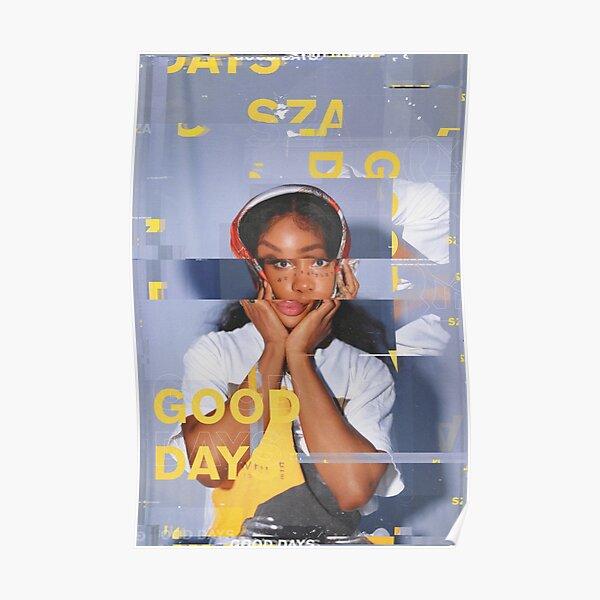 SZA Good Days Glitch Poster