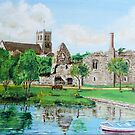 Christchurch Priory by Woodie