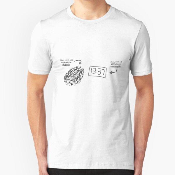 Ptilouk.net - Digital/Numérique Slim Fit T-Shirt