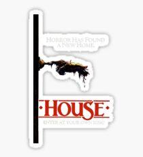 HOUSE (1986) Sticker