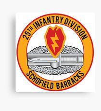 25th Infantry CAB Canvas Print