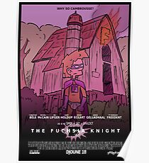 Ptilouk.net - The Fuchsia Knight Poster