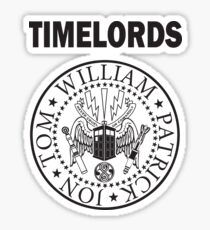 Time Lords 1 Sticker