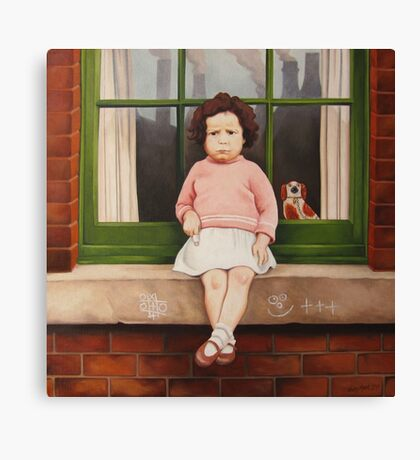 Sore Finger Canvas Print