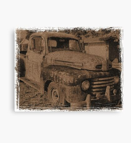 """Old Photographs and Memories""... prints and products Canvas Print"