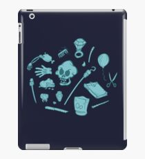 The Curse of Monkey Island Inventory (blue) iPad Case/Skin