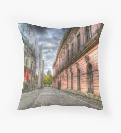 Old and New Throw Pillow