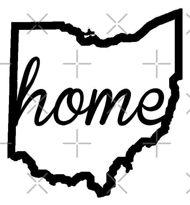 Ohio Outline Home by ohioinspired