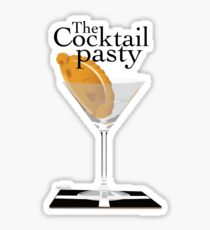 The Cocktail Pasty - 'ansome Sticker