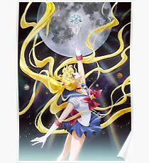 Sailor Moon Usagi Crystal Poster