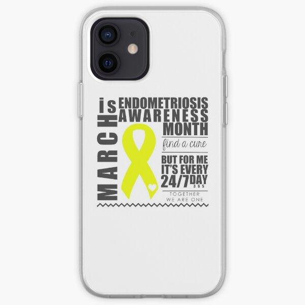 Endometriosis Awareness Month iPhone Soft Case
