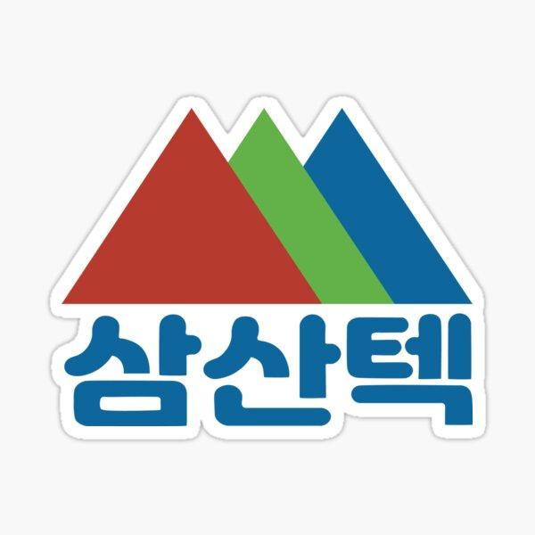 Samsan Tech 삼산텍 (Start Up/스타트업 ) Hangul Logo Sticker