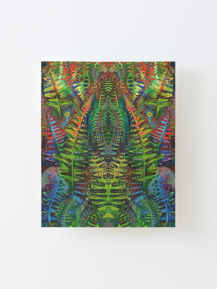 Alternate view of Fern Design - 2014 Mounted Print