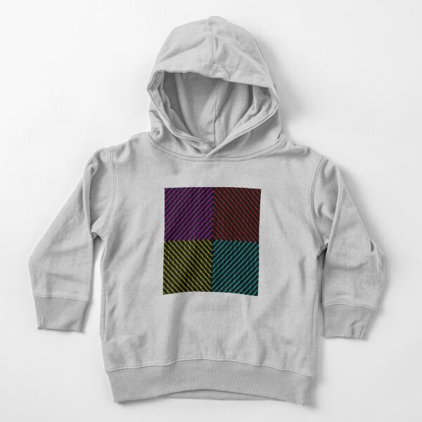 Lines Toddler Pullover Hoodie