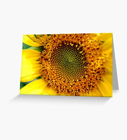 Sunny Sunflower Greeting Card