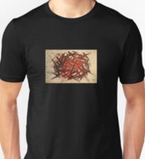 RAW 2 : red Unisex T-Shirt