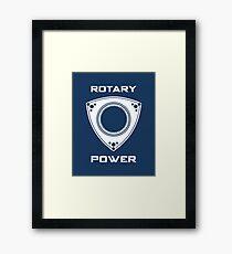 Rotary Power Framed Print