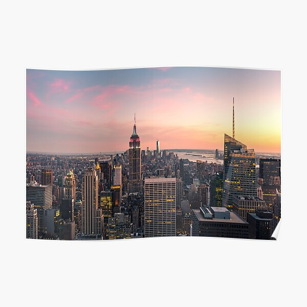 NEW YORK CITY 17 Poster
