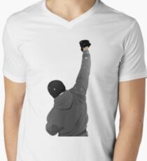 Rocky Balboa - Air Punch Mens V-Neck T-Shirt