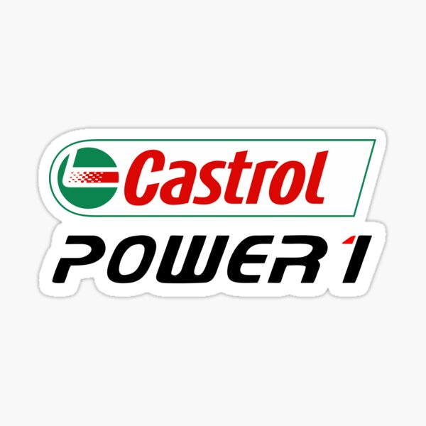 Castrol Power 1 Biker Sticker