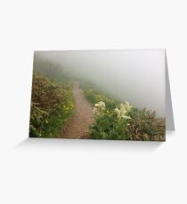 Wild Flower Trail on Hakusan Greeting Card