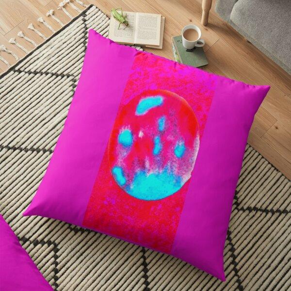 Mystic Moon Hot fuschia Floor Pillow
