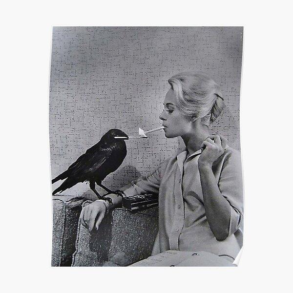 Tippi Hedren having her cigarette Poster