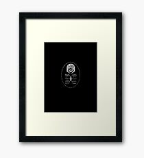 Star Trek - Ferengi Oval Badge - White Dirty Framed Print