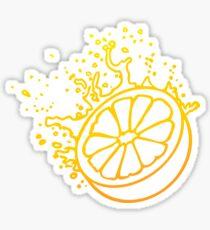 Juicy Orange Fruit VRS2 Sticker