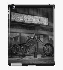 Chopper BW iPad Case/Skin
