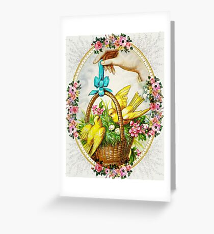 SPRING BLESSINGS Greeting Card