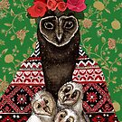Mother Owl by Redilion