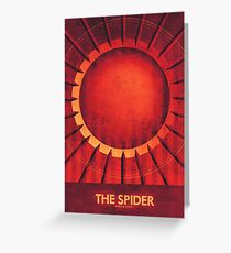 Mercury - The Spider Greeting Card