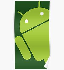 Android Sticker 1 Poster