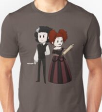 Sweeney Todd & Mrs. Lovett Unisex T-Shirt