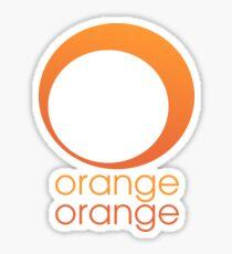 Orange Orange Sticker