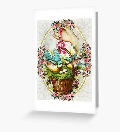 SPRING  BLESSINGS 3 Greeting Card