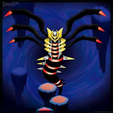 The Distortion World's Giratina by Bammelsan