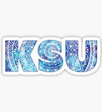 Kent State University - KSU Sticker