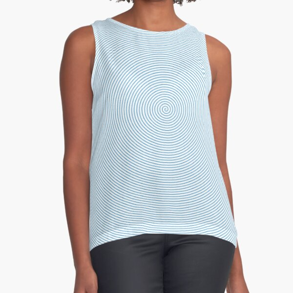 Spiral Sleeveless Top